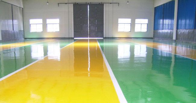 地坪涂料的应用与发展